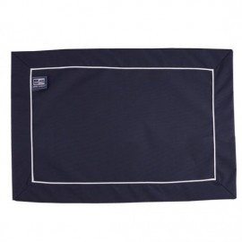 Placemats waterafstotend - Navy Blue - 6 delig - 45x30 cm