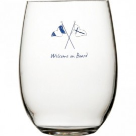 Marine Business Welcome on Board limonade-/longdrink glas 27107 antislip